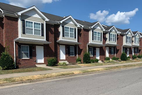 town homes of audley
